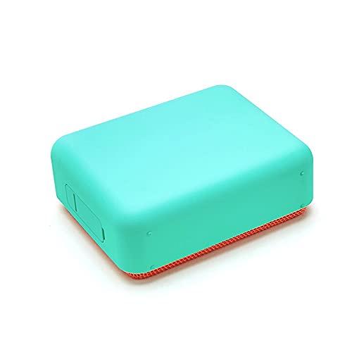 Altavoz Retro Bluetooth, Altavoz Bluetooth, Altavoz Inalámbrico Portátil,Aurtec Bluetooth 4.2, Altavoz Estéreo De Audio para El Hogar con Sonido Potente Y Subwoofer (Color : Blue)