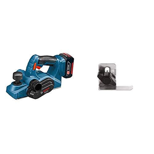 Bosch Professional 0.601.5A0.300 Cepillo (Sin batería y Sin cargador) 72 W, 18 V, Negro, Azul + Bosch 1 608 132 006 - Tope...