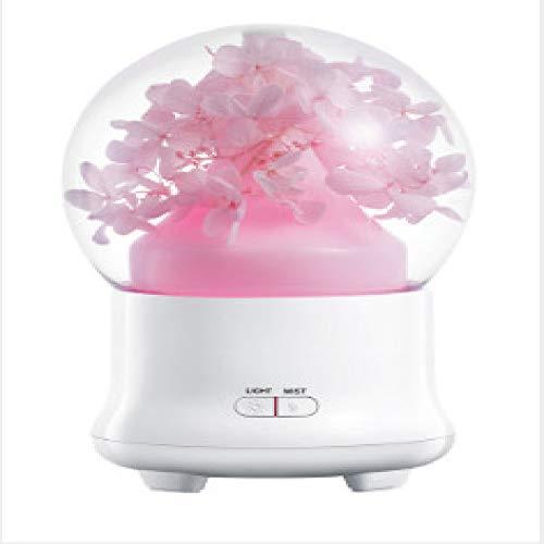 SGSD Aromatherapie-Luftbefeuchter Ewige Blume Aromatherapie-Luftbefeuchter Geburtstagsgeschenk Buntes Ätherisches Öl Aerosolspender Diffusor
