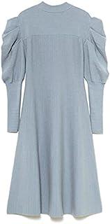赞助广告- Lily Brown 背部蝴蝶结A字针织连衣裙 LWNO215075