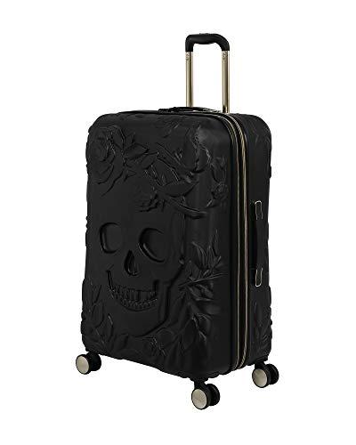 it luggage Skulls II Hardside Expandable Spinner, Black, Checked-Medium 28-Inch