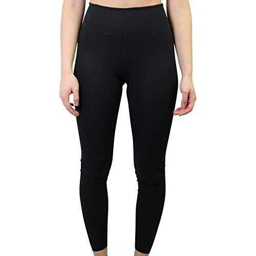Nike Damen One Luxe Tights, Black/Clear, M