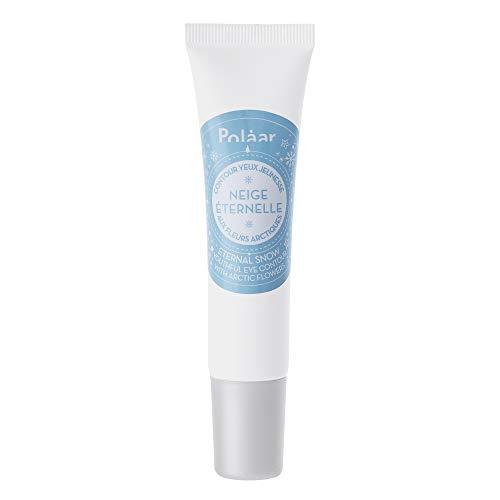 Polåar - Contour Des Yeux Jeunesse Neige Eternelle Aux Fleurs Arctiques 15ml - Soin crème hydratant Anti-Age, Anti-Rides, Ridules - Tous types de peaux, même sensibles - Actif naturel - Sans parfum