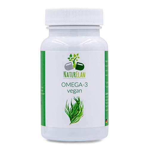 NaturElan - Omega 3 Olio di alghe - Vegan - 60 Capsule