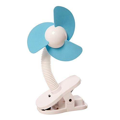 DREAMBABY™ Stroller Fan - Kinderwagen-Ventilator Clip (Farbe: Weiß & Blau)