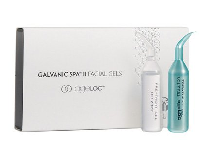Nu Haut Galvanische Spa Facial Gele SystemTM mit Ageloc ® MHD Februar 2017