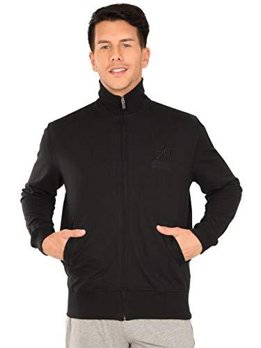 Jockey Men's Track Jacket (2730-0103-BLACK_Medium)