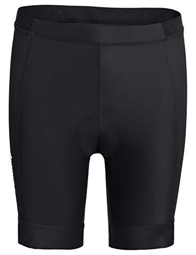 VAUDE Herren Advanced Pants III Radhose mit funktionellem Sitzpolster, black, 56, 413690105600