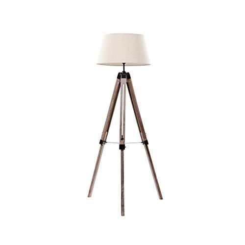 EIU Staande lamp met drie poten Amerikaans massief houten LED tafellamp M20-02-06
