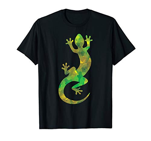 Eidechse Tarnung - Leguan Geschenk bunte Echse Terrarium T-Shirt