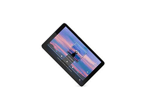 "Lenovo Tab M7, 7"" Android Tablet, Quad-Core Processor, 1.3GHz, 16GB Storage, Bluetooth, WiFi, 10 Hour Battery, Android 9 Pie Go, ZA55012US, Onyx Black (Renewed)"