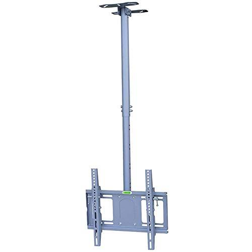 Soporte para TV Soporte de Montaje en Techo para TV inclinables y giratorios rotación de 360 Grados de Altura Ajustable Compatible con LED LCD televisores de Pantalla Plana de Entre 50 y 65