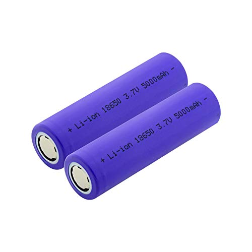 goubes Batería De Litio Recargable De 3.7v 15000mah 18650, Puede para La Linterna 2pcs