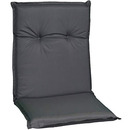 Niederlehner Sitzauflage Bezug 100% Polyester PY304 anthrazit wasserabweisend