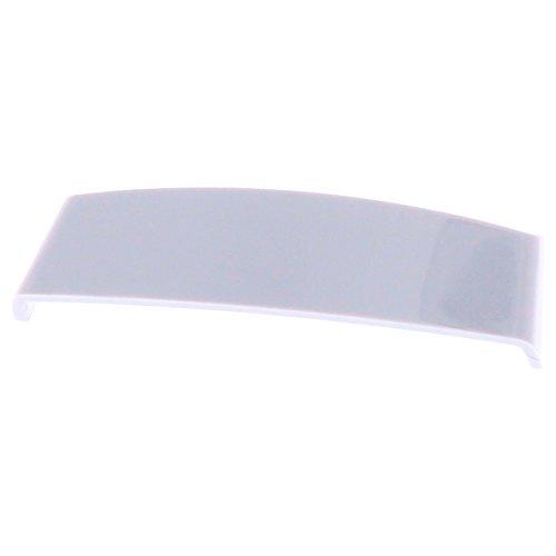 ToniTec Wasserschlitzkappe 45 mm für Schlitzfräsungen, Weiß RAL9016