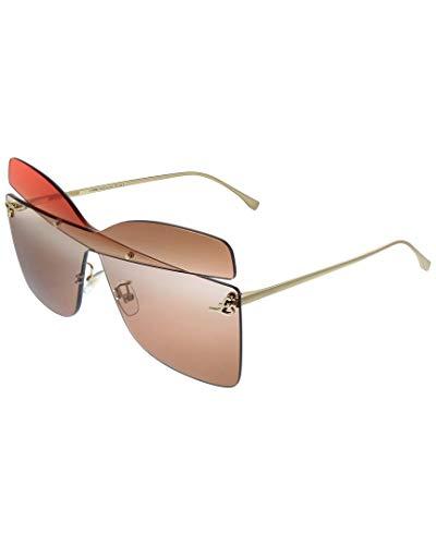 FENDI Gafas de Sol KARLIGRAPHY FF 0399/S GOLD/RED PINK BROWN...