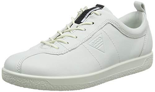 Ecco Damen SOFT1W Sneaker,Weiß (White 1007),38 EU