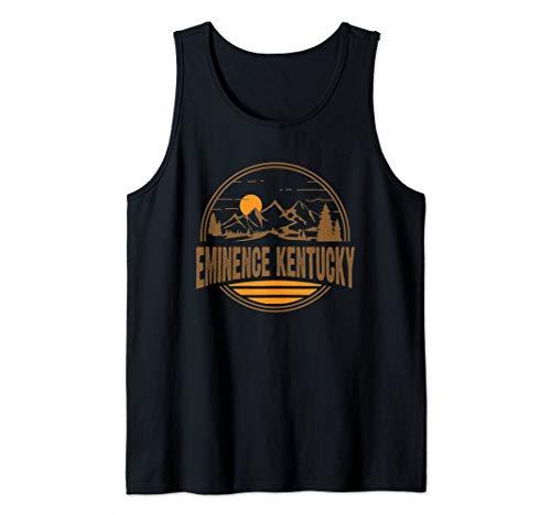 Vintage Eminence, Kentucky Mountain Hiking Souvenir Print Tank Top