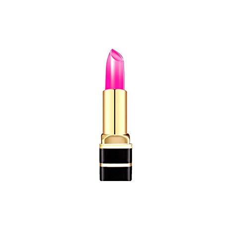 WOZOW Rouge à lèvres Changeur de Température pour Transparent(,Multicolore A)