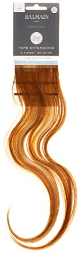 Balmain Tape Extension Human Hair 2pcs 40cm Länge 9.8G sehr hell goldblond 27g
