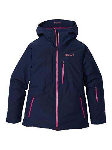 Marmot Wm's Lightray Jacket Chaqueta para la Nieve rígida, Ropa de esquí y Snowboard, Resistente al Viento, Resistente al Agua, Transpirable, Mujer, Arctic Navy, XL