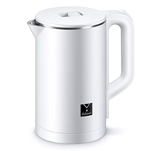 (50% OFF Coupon) Stainless Steel Double Wall Electric Kettle $15.00