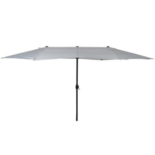 greemotion Luna - Sombrilla Parasol para Exteriores (protección UV 50+, 465 x 270...