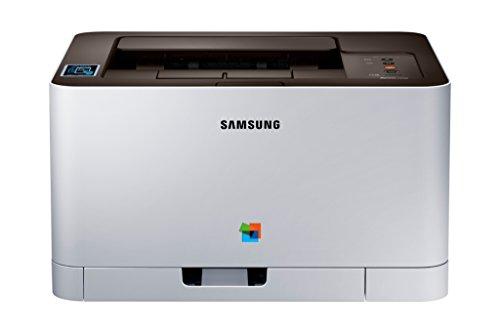 Samsung SL-C430W/SEE - Impresora láser, Color Blanco