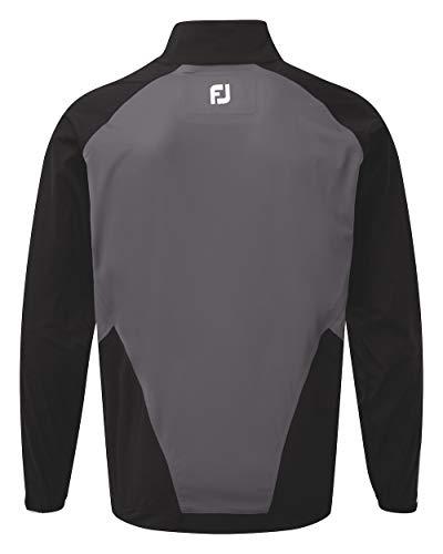 Footjoy HydroKnit Regenjacke Herren schwarz/grau XL
