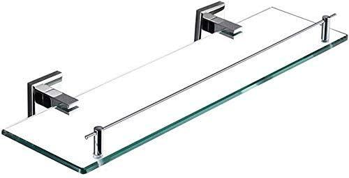 WQinyu Bathroom Max 46% OFF Glass Shelf Some reservation C Wall Mounted