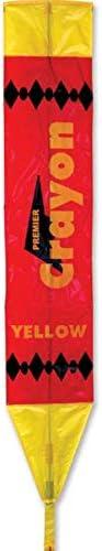 Premier Kites Crayon Regular store Topics on TV Kite - Yellow