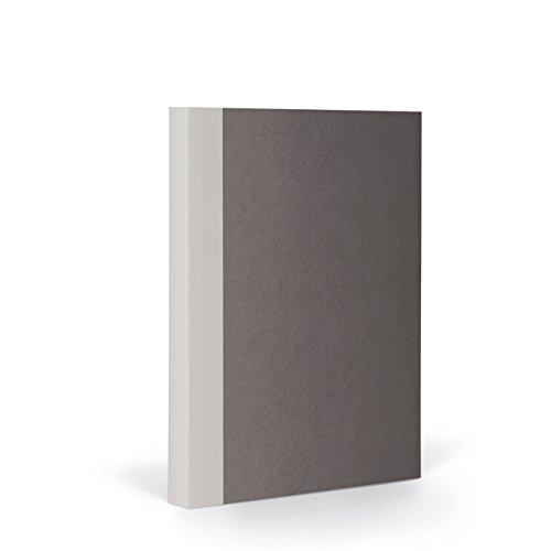 FANTASTICPAPER 4620255 Color 22 Notizbuch A5 Kariert, Stone & Warm Grey 192 Seiten