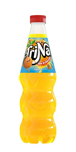 Trina - Naranja, Botella 1500 ml - Pack de 6 (Total 9000 ml)