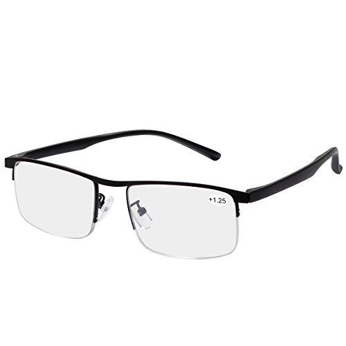 Unisex Progressives Multifokal Lesebrille Blaulichtfilter Brille Computerbrille für Frauen Männer Anti Müdigkeit UV Blaue Licht Blockieren Brille Verringerung der Augenbelastung Presbyopie Leser