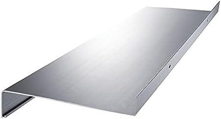 Aluminium Fensterbank Zuschnitt auf Ma/ß Fensterbrett Ausladung 300 mm wei/ß silber dunkelbronze anthrazit