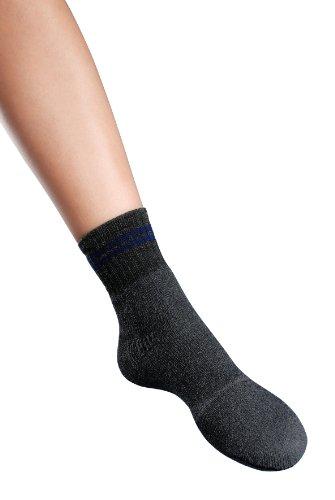 Promed Paire de chaussettes en tissu éponge taille 35-38
