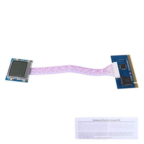 Qirun Tarjeta de prueba del poste del LCD del analizador del probador de la placa base de PCI para el ordenador portátil de escritorio