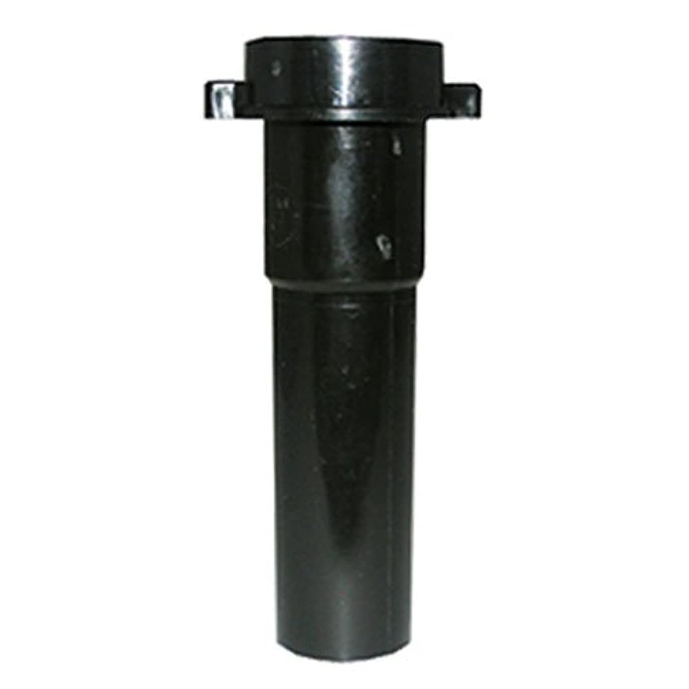 LASCO 03-4361 Black Plastic Tubular 1-1/2-Inch by 6-Inch Slip Joint Extension with nut and Washer