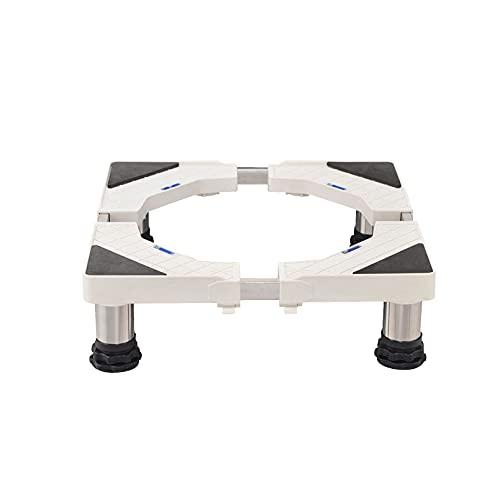 YiYYPT Soporte para Lavadora Antideslizante De AbsorcióN De Golpes Base para Refrigerador Ajustable Largo/Ancho 42-68cm Pedestal y Marco para Neveras Lavavajillas Altura 13-16cm (13-16cm,4 Legs)