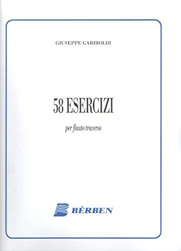 Giuseppe Gariboldi - 58 esercizi per flauto traverso