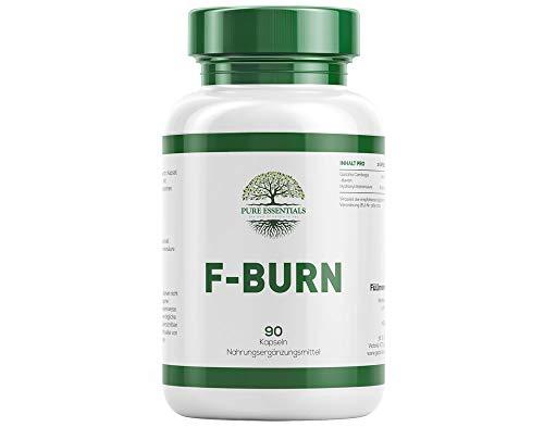 Pure Essentials - F-Burn mit Garcinia Cambogia Fruchtextrakt - 90 Kapseln - Premium Qualität - Hergestellt in Deutschland (1)