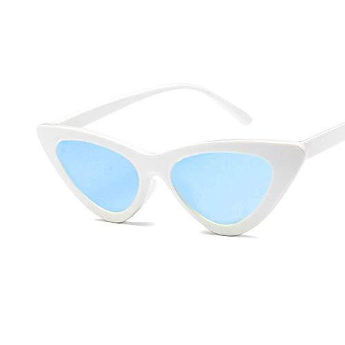 Gafas De Sol Mujer Modernas Gafas De Sol Triangulares De Ojo De Gato Para Mujer Gafas Retro Sexis Gafas De Sol De Moda Para Mujer UV400-03