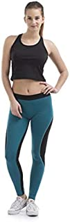 Lovable Women Girls Cotton Lycra Sports Tights in Multicolor- AERO Sprinter-SG-BK