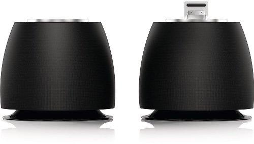 Philips DS6200/10 2.0 Docking-Lautsprecher für Apple iPod/iPhone schwarz