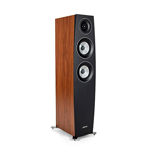 Great Deal! Jamo Floorstanding Speaker, C 95 II, Brown