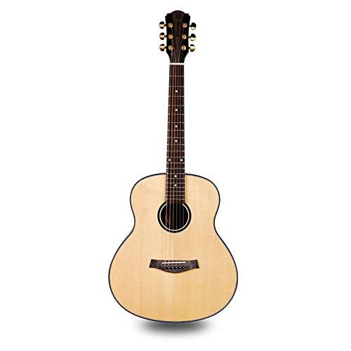 Ning Night Akustikgitarre Sitika Gesicht Zurück Palisander Seitenverkleidung-Licht Doppelseitiger Einzelholzgitarre Kartonverpackungen Boutique