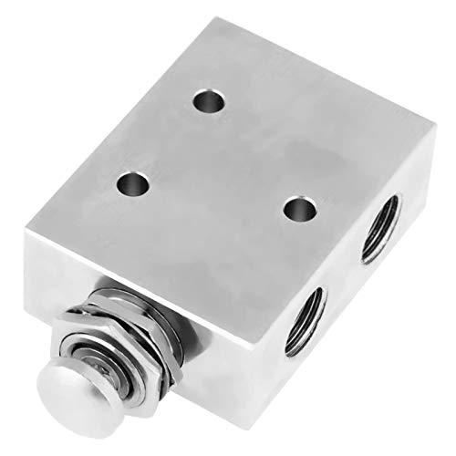 Interruptor de válvula de palanca, interruptor de palanca de aire neumático de encendido/apagado de metal, industria de 2 posiciones para máquina CNC