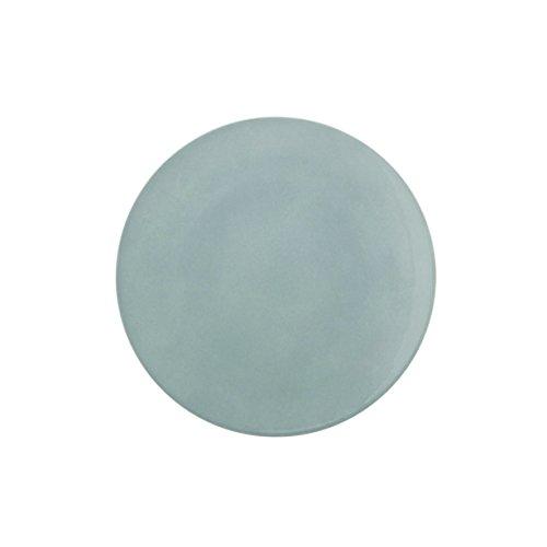 DEGRENNE - Modulo Color lot de 6 assiettes plate ronde 26 cm , porcelaine - Gris perle