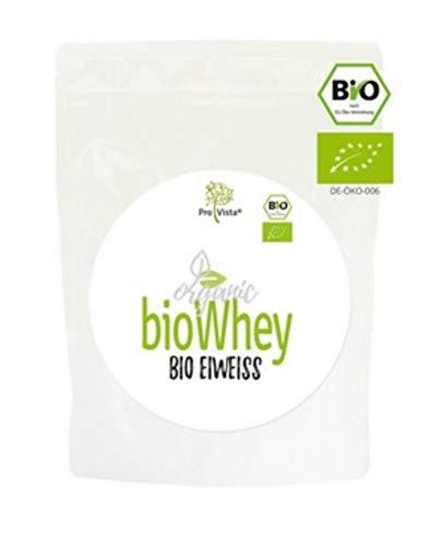 ProVista Bio Whey Protein - organic Molken-Eiweiss - Honig-Vanille Honig-Vanille aus Schweizer Alpenmilch