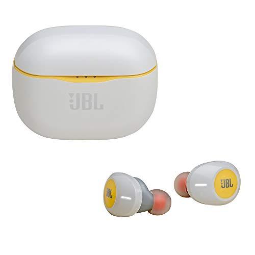 JBL Tune 120TWS Truly Wireless in-Ear Headphones (Yellow)
